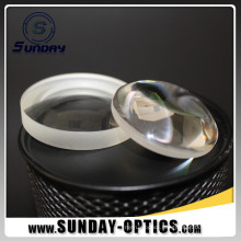 25.4mm Diameter 50mm Focal Length Plano Convex Lens With Visible AR Coating